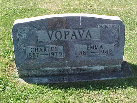VOPAVA, CHARLES - Winneshiek County, Iowa | CHARLES VOPAVA