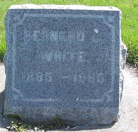 WHITE, BERNERD - Winneshiek County, Iowa | BERNERD WHITE