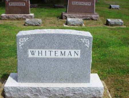 WHITEMAN, ELIJAH FAMILY STONE - Winneshiek County, Iowa | ELIJAH FAMILY STONE WHITEMAN