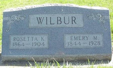 WILBUR, EMERY  M. - Winneshiek County, Iowa | EMERY  M. WILBUR