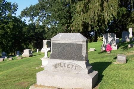 WILLETT, GEORGE RICE FAMILY STONE - Winneshiek County, Iowa   GEORGE RICE FAMILY STONE WILLETT