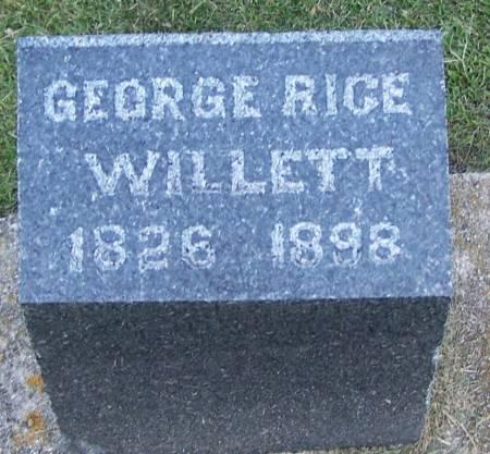 WILLETT, GEORGE RICE - Winneshiek County, Iowa | GEORGE RICE WILLETT