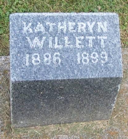 WILLETT, KATHERYN - Winneshiek County, Iowa | KATHERYN WILLETT