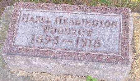 HEADINGTON WOODROW, HAZEL - Winneshiek County, Iowa | HAZEL HEADINGTON WOODROW