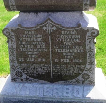 YTTERBOE, MARI THYKESON - Winneshiek County, Iowa | MARI THYKESON YTTERBOE
