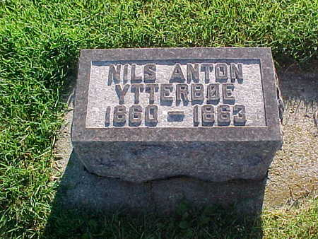 YTTERBOE, NILS ANTON - Winneshiek County, Iowa | NILS ANTON YTTERBOE