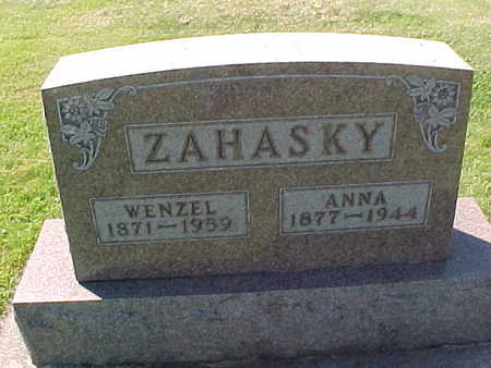 ZAHASKY, ANNA - Winneshiek County, Iowa | ANNA ZAHASKY