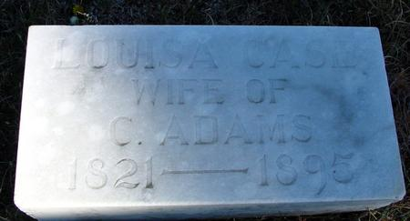CASE ADAMS, LOUISA - Woodbury County, Iowa | LOUISA CASE ADAMS