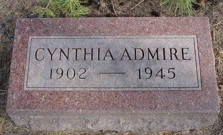 ADMIRE, CYNTHIA - Woodbury County, Iowa | CYNTHIA ADMIRE