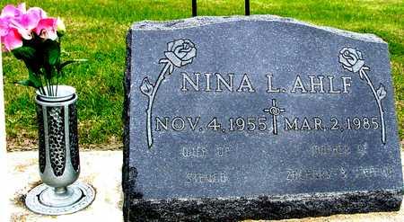 AHLF, NINA L. - Woodbury County, Iowa | NINA L. AHLF