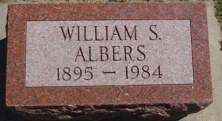 ALBERS, WILLIAM S. - Woodbury County, Iowa | WILLIAM S. ALBERS