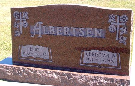 ALBERTSEN, CHRISTIAN & RUBY - Woodbury County, Iowa | CHRISTIAN & RUBY ALBERTSEN