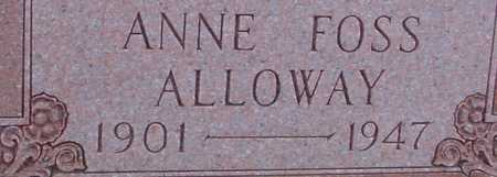 ALLOWAY, ANNE - Woodbury County, Iowa | ANNE ALLOWAY