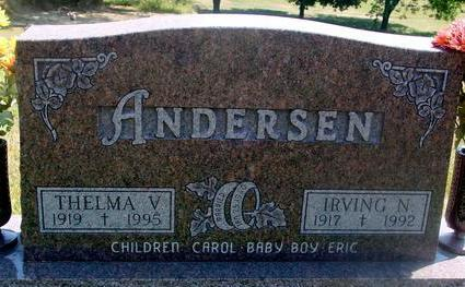 ANDERSEN, IRVING & THELMA - Woodbury County, Iowa | IRVING & THELMA ANDERSEN