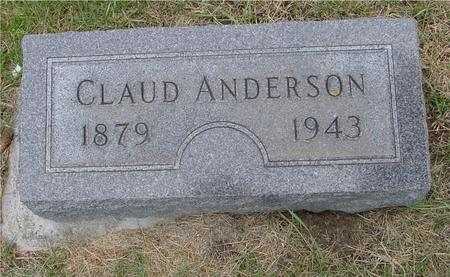 ANDERSON, CLAUD - Woodbury County, Iowa | CLAUD ANDERSON
