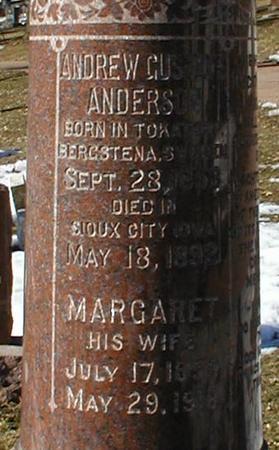 ANDERSON, MARGARET - Woodbury County, Iowa | MARGARET ANDERSON
