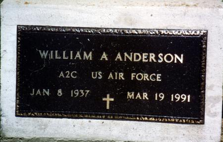 ANDERSON, WILLIAM - Woodbury County, Iowa | WILLIAM ANDERSON
