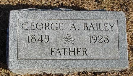 BAILEY, GEORGE A. - Woodbury County, Iowa | GEORGE A. BAILEY