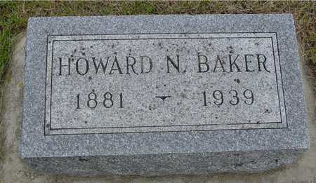 BAKER, HOWARD N. - Woodbury County, Iowa | HOWARD N. BAKER