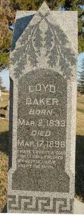 BAKER, LOYD - Woodbury County, Iowa | LOYD BAKER