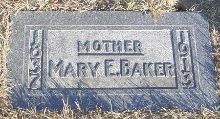 BAKER, MARY E. - Woodbury County, Iowa | MARY E. BAKER