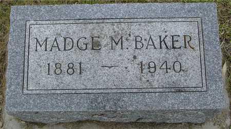 BAKER, MADGE M. - Woodbury County, Iowa | MADGE M. BAKER