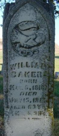 BAKER, WILLIAM - Woodbury County, Iowa | WILLIAM BAKER