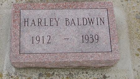BALDWIN, HARLEY - Woodbury County, Iowa | HARLEY BALDWIN