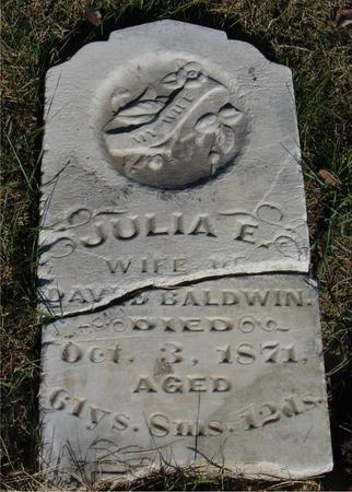 BALDWIN, JULIA E. - Woodbury County, Iowa | JULIA E. BALDWIN