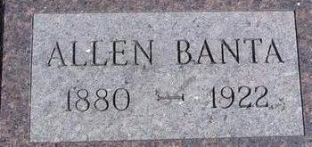 BANTA, ALLAN - Woodbury County, Iowa | ALLAN BANTA