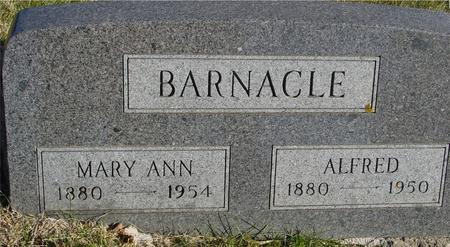 BARNACLE, ALFRED & MARY ANN - Woodbury County, Iowa | ALFRED & MARY ANN BARNACLE