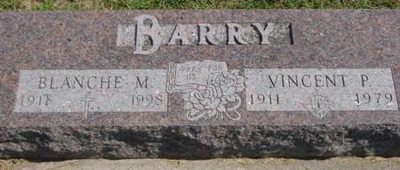 BARRY, VINCENT & BLANCHE - Woodbury County, Iowa | VINCENT & BLANCHE BARRY