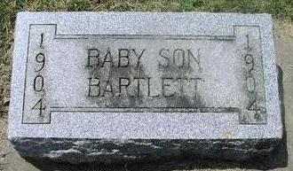 BARTLETT, BABY SON - Woodbury County, Iowa | BABY SON BARTLETT