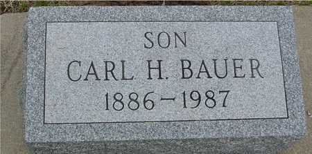 BAUER, CARL H. - Woodbury County, Iowa | CARL H. BAUER