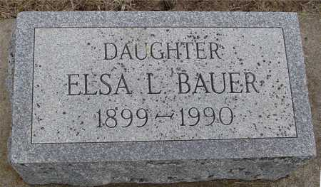 BAUER, ELSA L. - Woodbury County, Iowa | ELSA L. BAUER