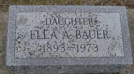 BAUER, ELLA A. - Woodbury County, Iowa | ELLA A. BAUER
