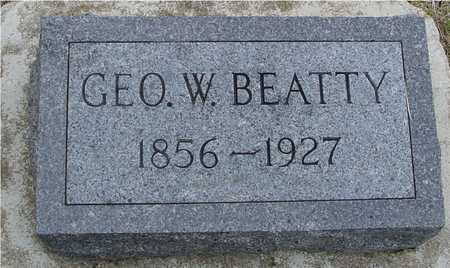 BEATTY, GEORGE W. - Woodbury County, Iowa | GEORGE W. BEATTY