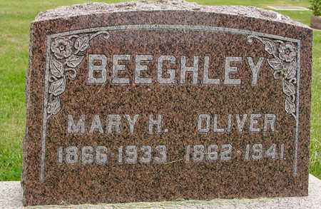 BEEGHLEY, OLIVER & MARY H. - Woodbury County, Iowa | OLIVER & MARY H. BEEGHLEY