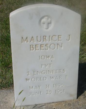 BEESON, MAURICE J. - Woodbury County, Iowa | MAURICE J. BEESON