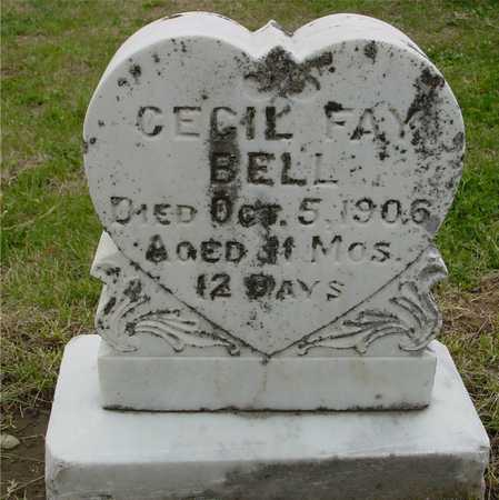 BELL, CECIL FAY - Woodbury County, Iowa | CECIL FAY BELL