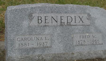 BENEDIX, FRED W. - Woodbury County, Iowa | FRED W. BENEDIX
