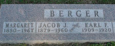 BERGER, JACOB & MARGARET - Woodbury County, Iowa | JACOB & MARGARET BERGER
