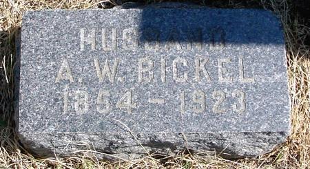 BICKEL, A. W. - Woodbury County, Iowa | A. W. BICKEL