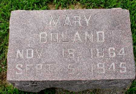 BOLAND, MARY - Woodbury County, Iowa | MARY BOLAND