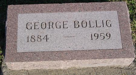 BOLLIG, GEORGE - Woodbury County, Iowa | GEORGE BOLLIG