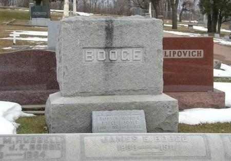 BOOGE, MONUMENT - Woodbury County, Iowa | MONUMENT BOOGE