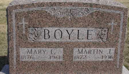 BOYLE, MARTIN J. & MARY C. - Woodbury County, Iowa | MARTIN J. & MARY C. BOYLE