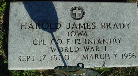 BRADY, HAROLD JAMES - Woodbury County, Iowa | HAROLD JAMES BRADY