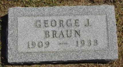 BRAUN, GEORGE J. - Woodbury County, Iowa | GEORGE J. BRAUN