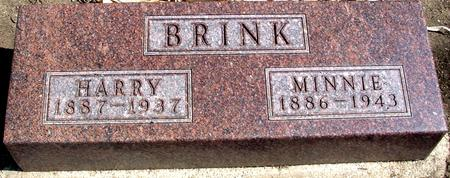 BRINK, HARRY & MINNIE - Woodbury County, Iowa | HARRY & MINNIE BRINK
